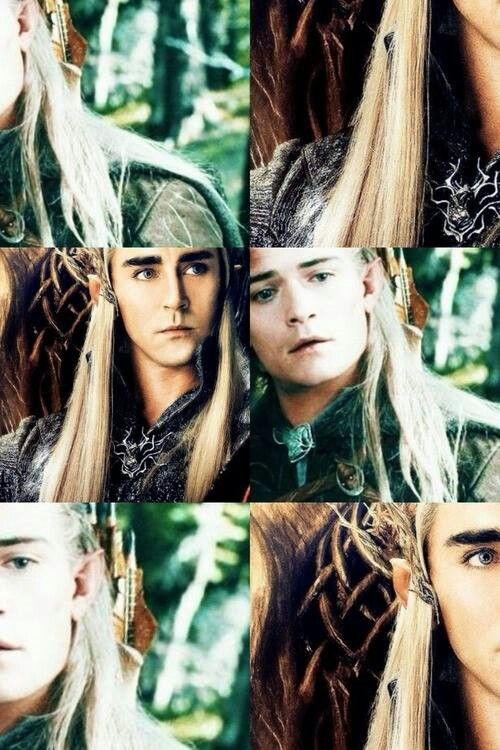 Thranduil and Legolas | Legolas, The hobbit, The hobbit movies