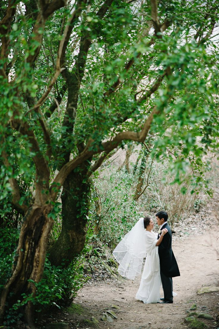 Bride & Groom in walks