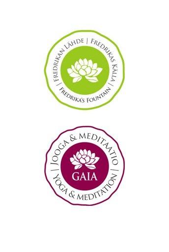 Logo Design by Maijamedia | Fredrikan Lähde, Jooga- ja meditaatiokeskus Gaia, http://www.fredrika.fi