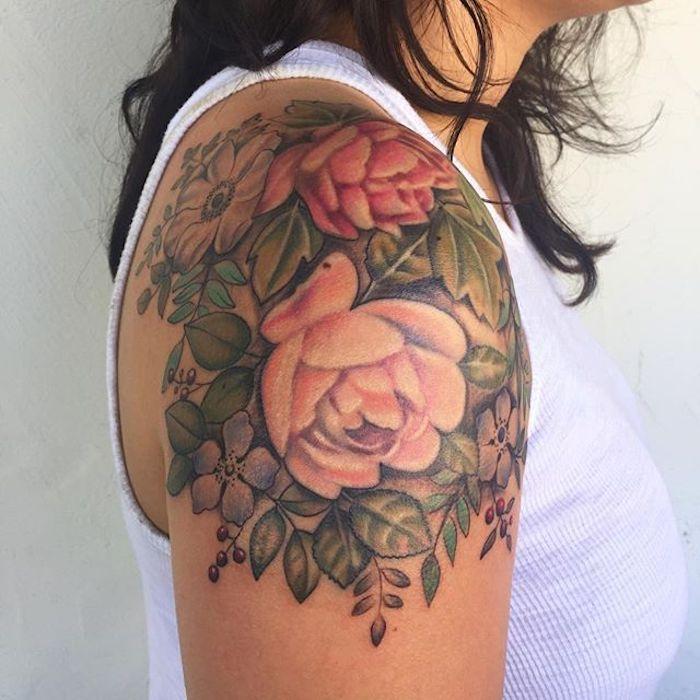 best 25 tattoo schulter frau ideas on pinterest tattoo fu frau stammesfu tattoos and frauen. Black Bedroom Furniture Sets. Home Design Ideas