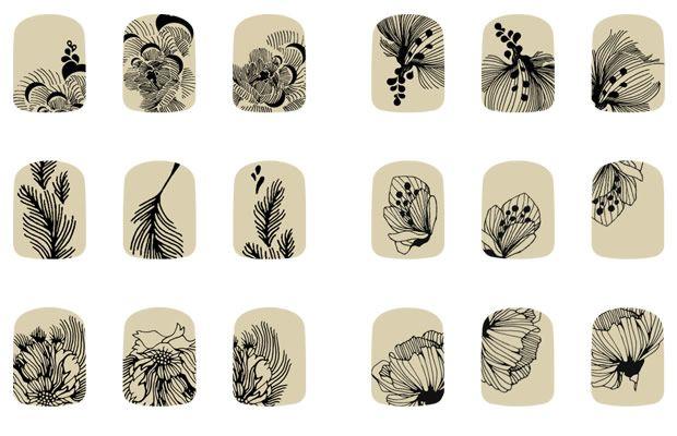 Corpus Délit tatouages ongles #tattoo #nails http://www.madmoizelle.com/corpus-delit-tatouages-ongles-delits-nail-152577