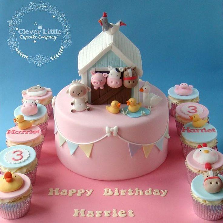 Pink Barn Cake