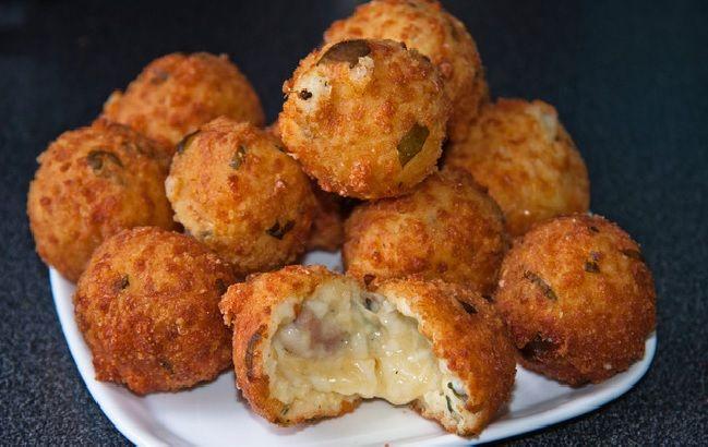 Croquettes mozza-jambon de parme