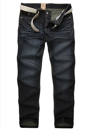 Stylish Denim Straight Leg Casual Men Jeans