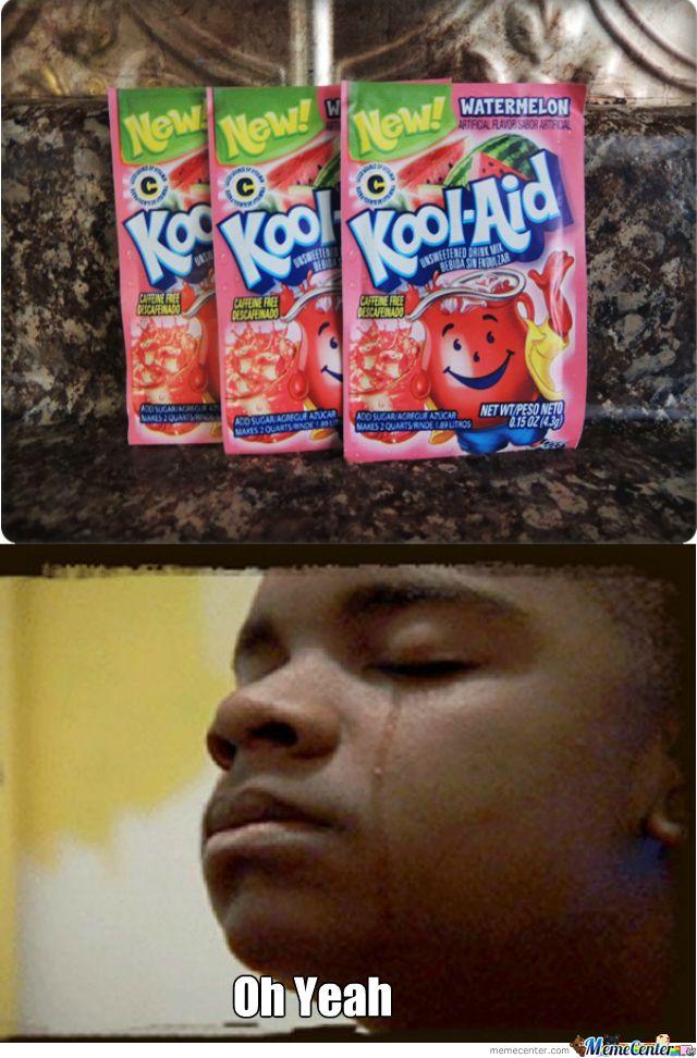 Fried chicken watermelon kool aid meme - photo#18
