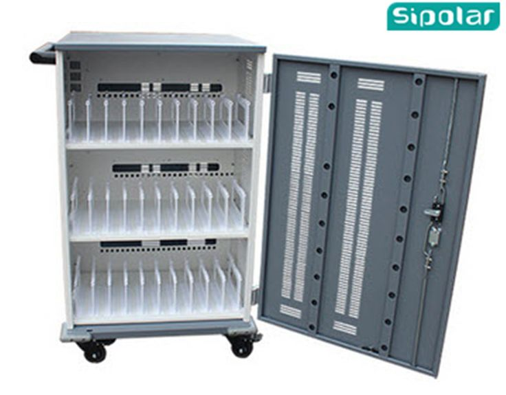 Luxury Laptop Storage Cabinet with Network