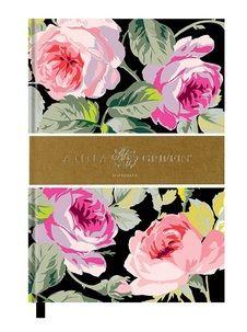 Delightful Anna Griffin Black Journal
