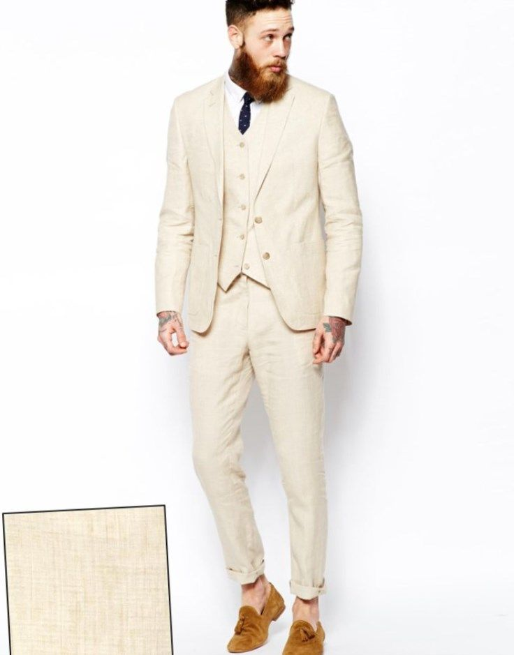 Herren Anzug Beige Slim Fit Anzug Herren Pinterest Beige