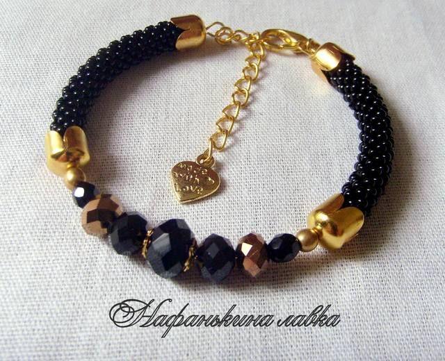 Черно-золотой комплект