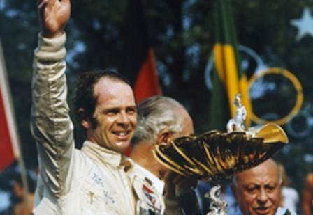 Peter Gethin – winner of the 1971 Italian Grand Prix, his only Grand Prix podium appearance.