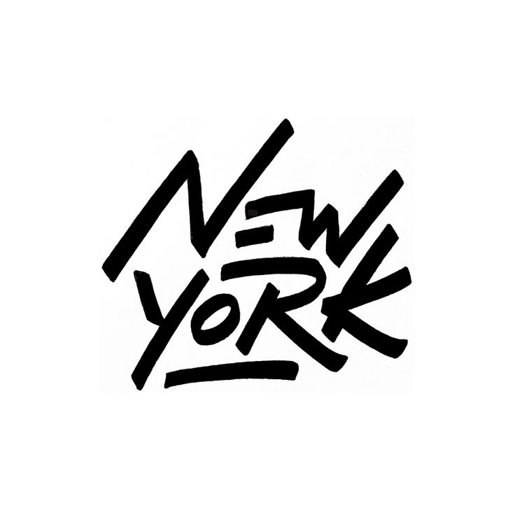 New York By Trongchit Lettering Calligraphy