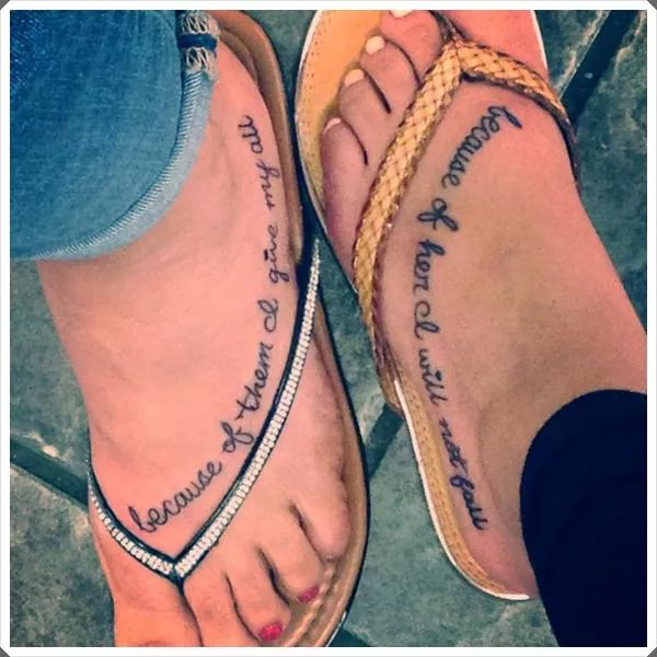 mother daughter tattoos 44