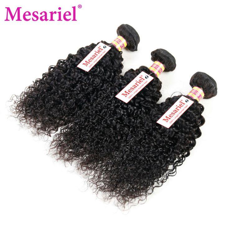 3 Bundles Peruvian Kinky Curly Virgin Hair 10A Grade Peruvian Unprocessed Human Hair Extensions Kinky Curly Peruvian Weave