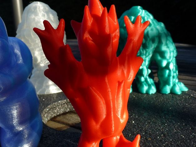 Fire Elemental by SystemsGuy - Thingiverse