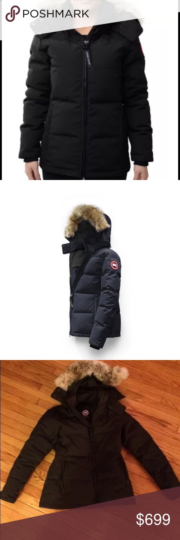 Canada Goose size S Chelsea Parka Like new parka- owned for a little over a year. Was a gift from my husband (but I decided I need a larger size). Absolutely gorgeous coat and life changer if you live in a cold climate!!! Canada Goose Jackets & Coats