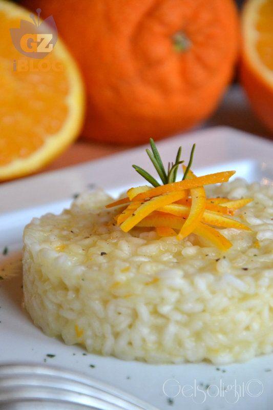 Risotto arancia e rosmarino