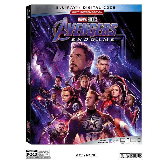 Marvel Studios Avengers Endgame Releases On Digital 7 30 And On