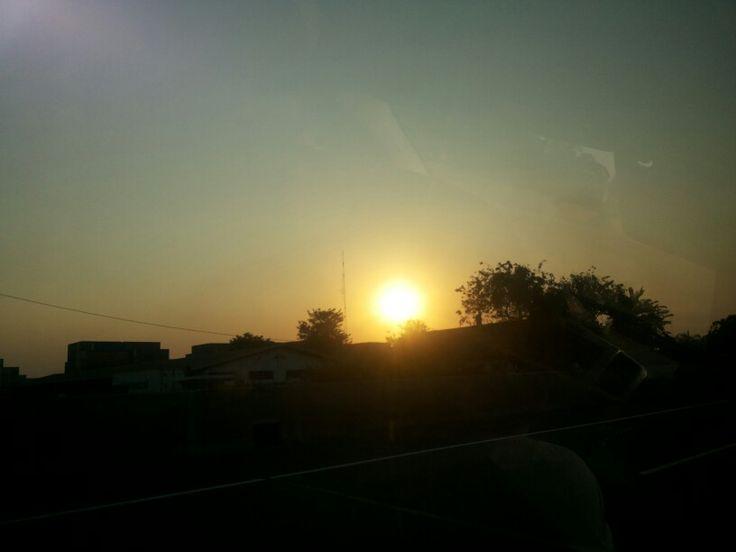 Sunset - @ Jakarta Garden City taken by my galaxy - Aug 2013
