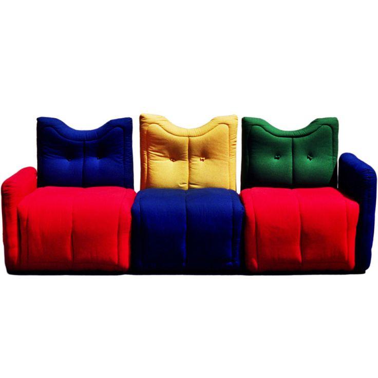 Großartig Sofa By Gaetano Pesce
