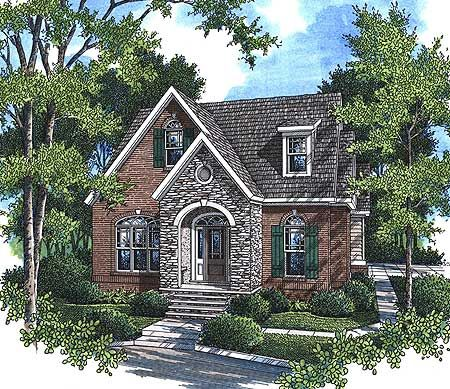 Luxury home plans french country tuscan ranch english for English tudor cottage house plans