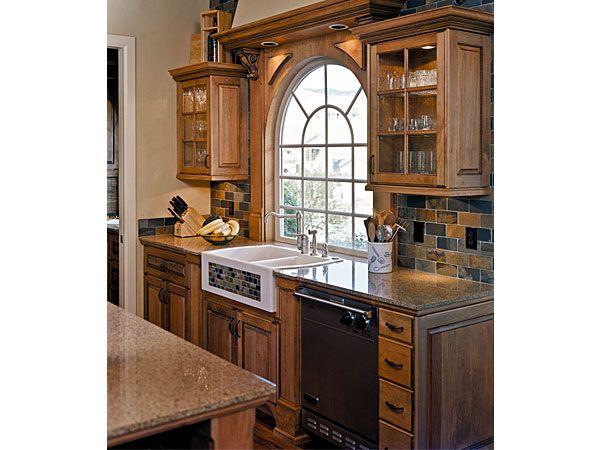 Kitchen Design With  Windows