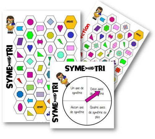 Symé-tri : jeu sur la symétrie