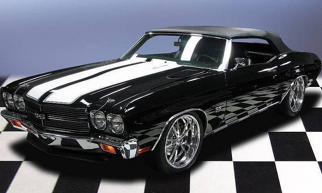 '70 Chevelle SS Convertible. Awesome American Muscle car!