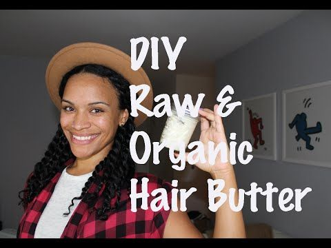 DIY Creamy Raw And Organic Hair Butter For Winter  Read the article here - http://www.blackhairinformation.com/hair-care-2/hair-treatments-and-recipes/diy-creamy-raw-organic-hair-butter-winter/ #hairbutter #recipe