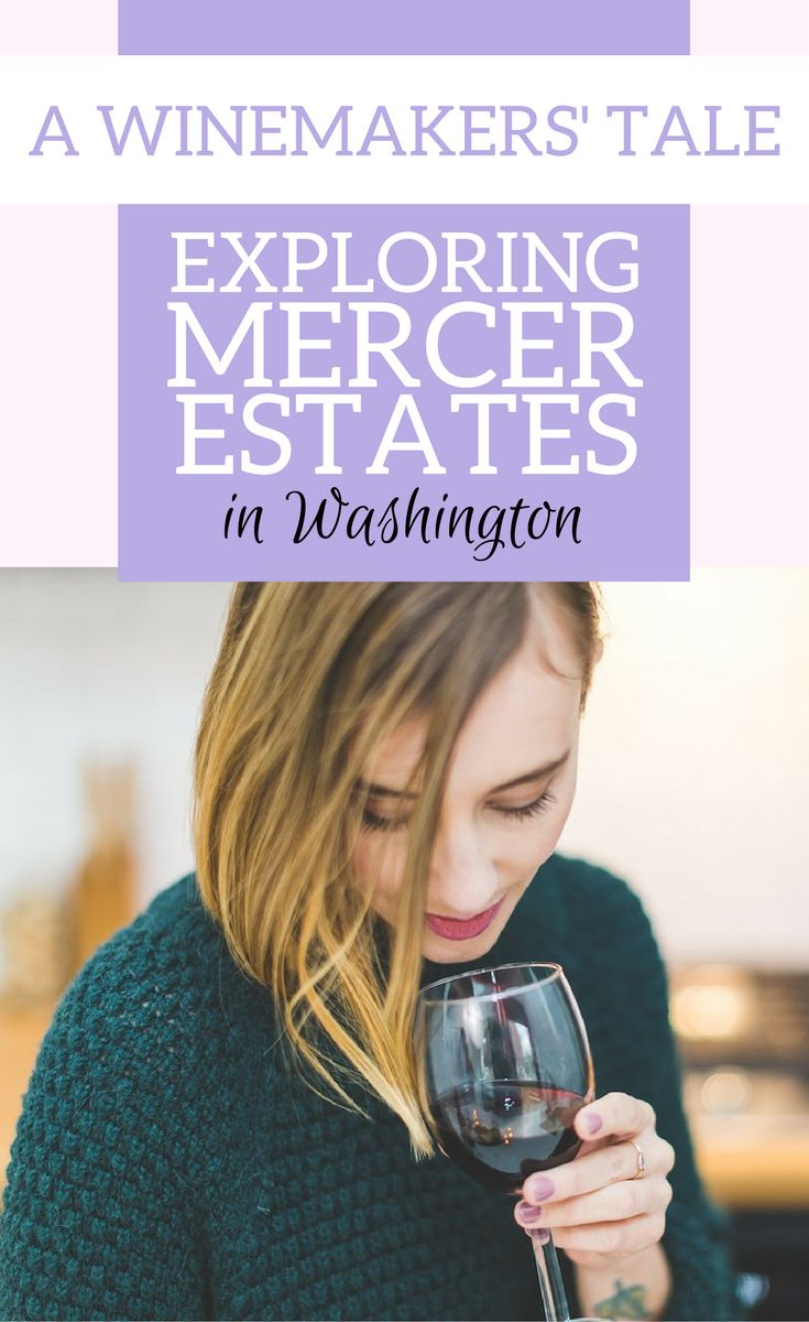 An interview to Jessica Munnell, the winemaker at Mercer Estates in the Washingtn wine region. | Washington wine country | Washington wineries | Washington wine tour | Washington wine tasting | Washington wine map | Wine tourism #Washington #Wineries - via @elainschoch