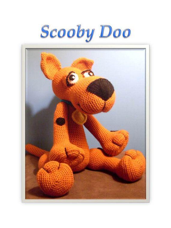 Crochet pattern Scooby Doo
