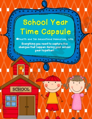 school year time capsule second grade time capsule project pinterest school teacher. Black Bedroom Furniture Sets. Home Design Ideas