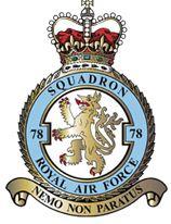 78 Squadron Crest