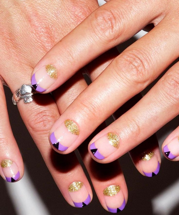 18 Manicures To Copy, Stat!  #refinery29  http://www.refinery29.com/negative-space-nails