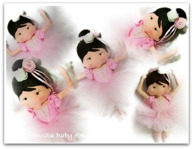 Bailarina de feltro
