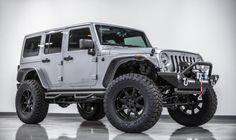 2014 Jeep Wrangler Unlimited Sport 4X4 Billet Silver