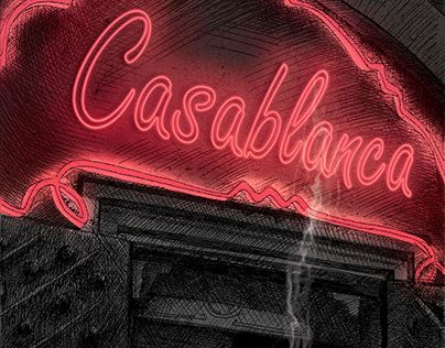 "Check out new work on my @Behance portfolio: ""Casablanca Poster"" http://be.net/gallery/36045633/Casablanca-Poster"