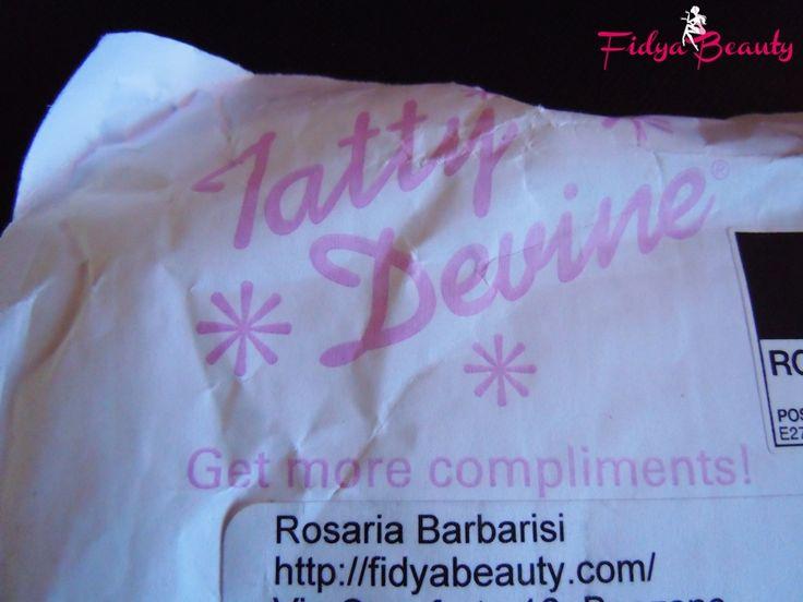 La mia collana Personalizzata su Tatty Devine!