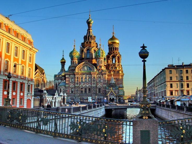 Tour de ville  St Petersbourg  , Russie ( Ultra 4K )