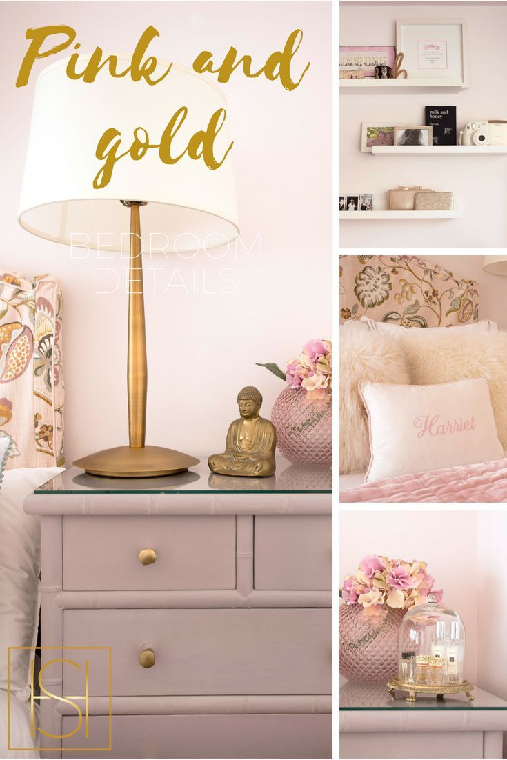 Nothing Says Girly Luxe Like Pink And Gold Accessories Kid Room