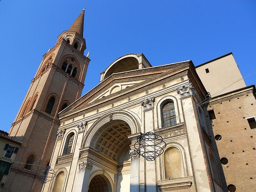 Basilica di Sant'Andrea - Leon Battista Alberti - Mantova    #TuscanyAgriturismoGiratola