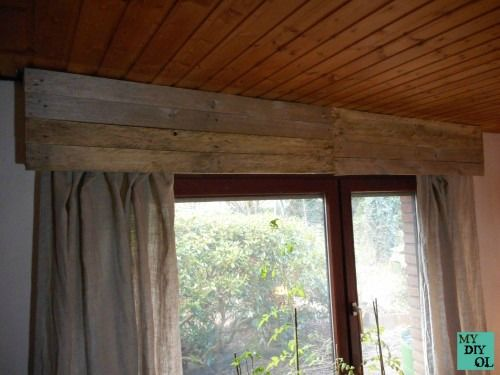 Rolladenkasten verkleidet mit Palettenbrettern inkl. Anleitung / Roller shutter box covered with pallet wood incl. tutorial / Upcycling