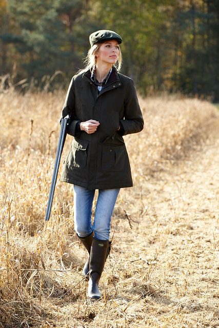 You CAN be stylish while out hunting! This'll be me this season. #LeChameau #wellies