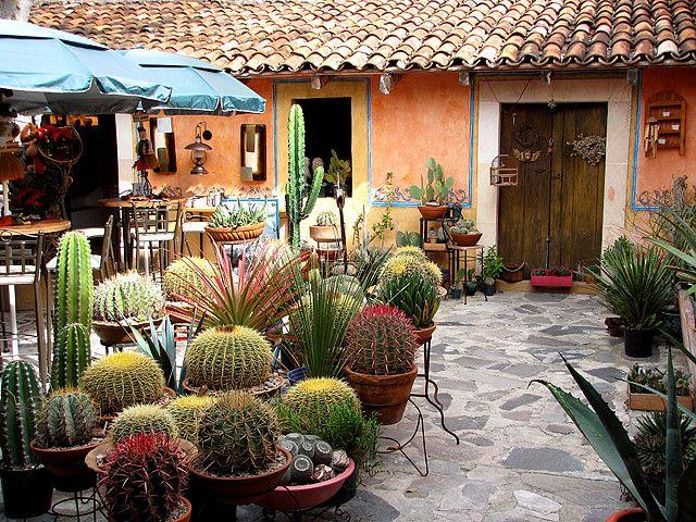 Restaurant in Bernal, Queretaro, Mexico.