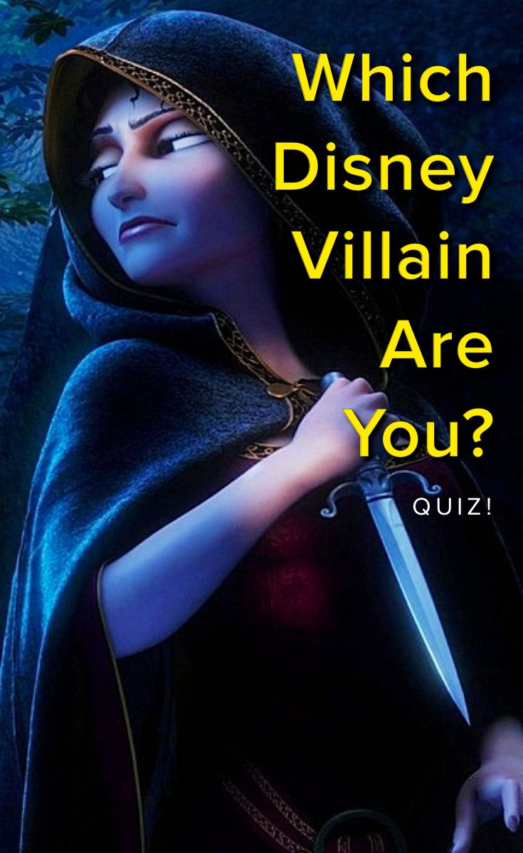Which Disney Villain Are You? Take This Quiz And Find Out Today!