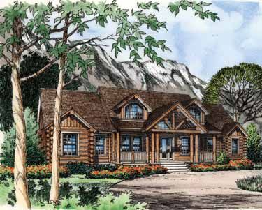 Floor Plans Aflfpw08885 2 Story Log Houses Home With 4 Bedrooms 3 Bathrooms And