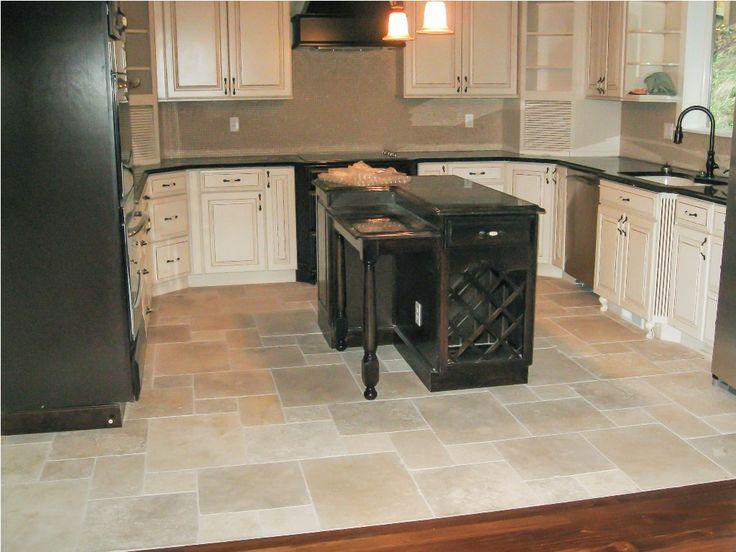 Porcelain Tile Kitchen Floor Designs