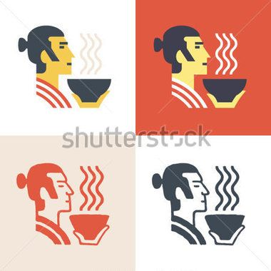 noble-samurai-hold-plate-with-hot-rice-at-his-hand-vector-icon-set-logo-template_190725560.jpg (380×380)