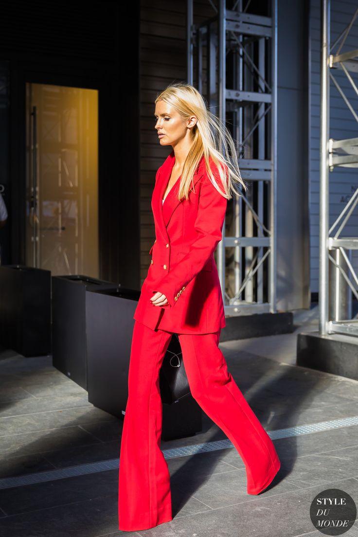 New York SS 2018 Street Style: Kate Davidson Hudson