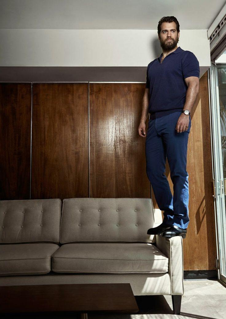 Henry Cavill photographed byPatrik Giardinofor September 2015 issue of Men's Health magazine.