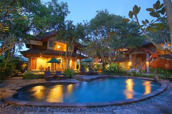 La piscine de notre hotel a Ubud